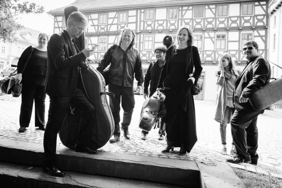 Das Thüringer Bach Collegium unterwegs (Foto© Matthias Eckert)